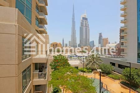 1 Bedroom Flat for Sale in Downtown Dubai, Dubai - Well Maintained|1 Bedroom Apt|Burj Views