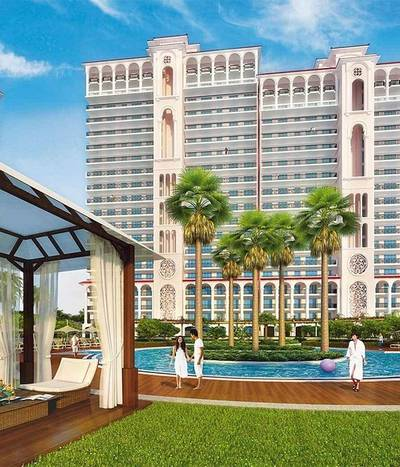 2 Bedroom Flat for Rent in Dubailand, Dubai - Affordable Price 2 BHK + Balcony in Skycourts Tower