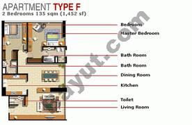 2 Bedroom Type F