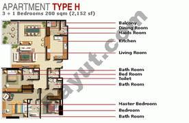 3 Bedroom Type H