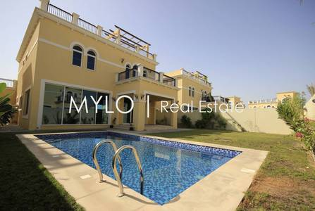 4 Bedroom Villa for Sale in Jumeirah Park, Dubai - Vacant Now | Park facing |Swimming pool