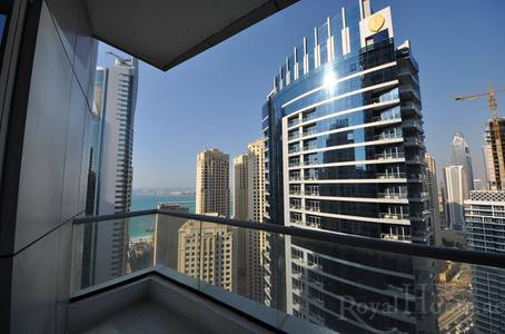 1 Bedroom Flat for Rent in Dubai Marina, Dubai - Marina & Sea View | High Floor