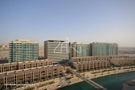 2 Bedroom Villa for Rent in Al Raha Beach, Abu Dhabi - High Floor! Vacant 2 BR Apt with Balcony