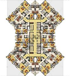 Typical Floor Plan 20th to 25th Floor