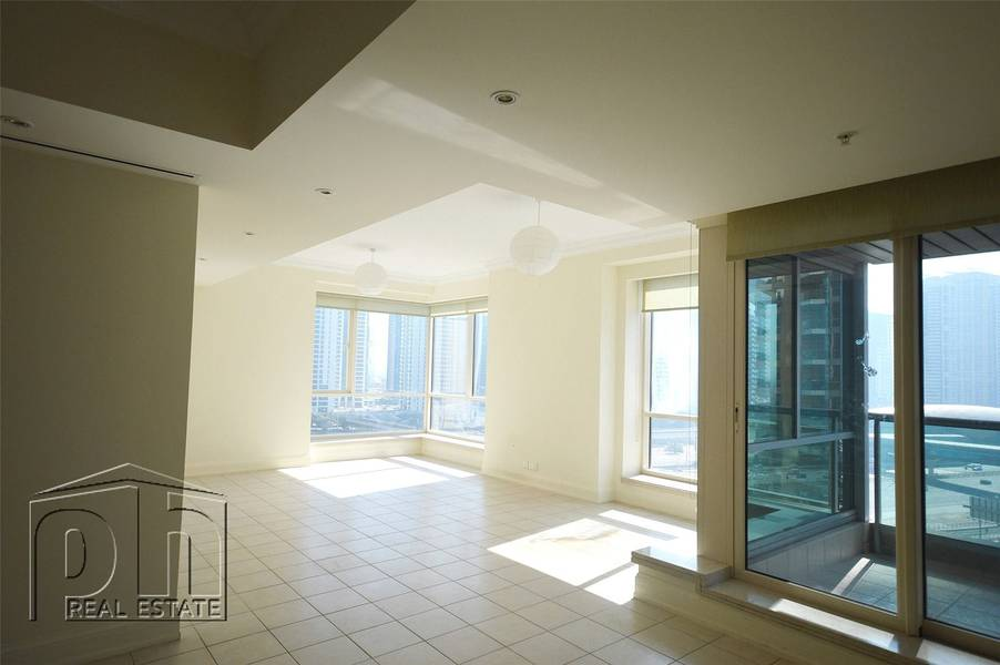 2 Amazing 3 bed + Maids with 2 balconies in the Original 6