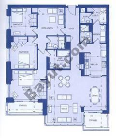 North Block 3 Bedroom Suite 1