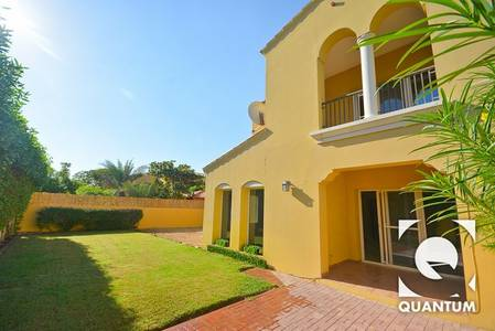2 Bedroom Townhouse for Rent in Arabian Ranches, Dubai - Immaculate | Single row | 2 bed + Study