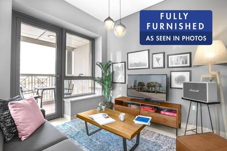 Brand New Furniture | Amazing City View