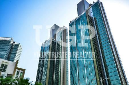 4 Bedroom Apartment for Sale in Al Reem Island, Abu Dhabi - High flr. 4 BR   Big layout   Facilities
