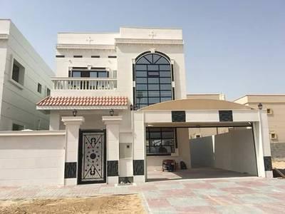 5 Bedroom Villa for Sale in Al Zahraa, Ajman - Very good location close to Hajar Mosque and schools Choueifat and governance and Ajman Academy