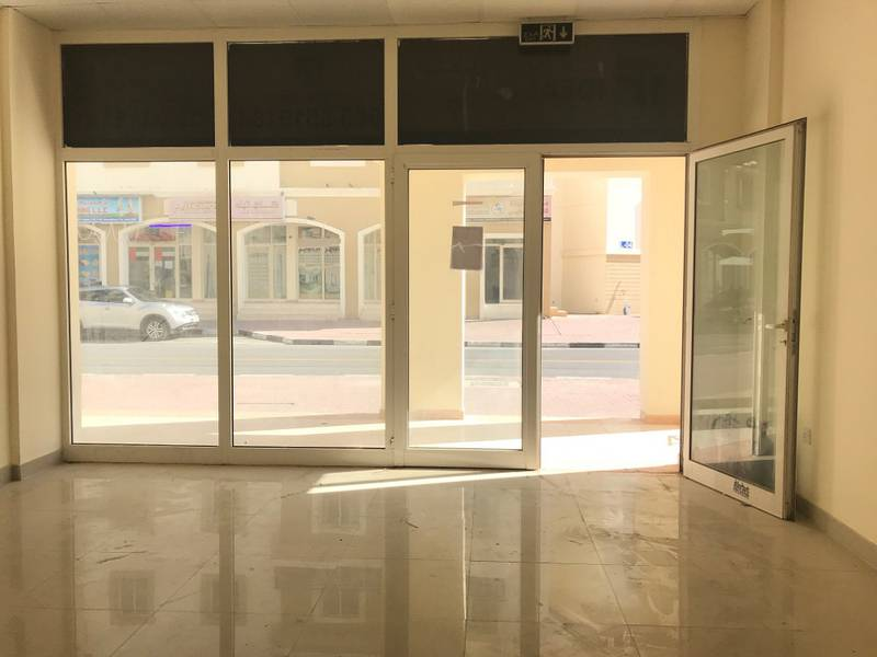 Shop available for rent in a good location International city