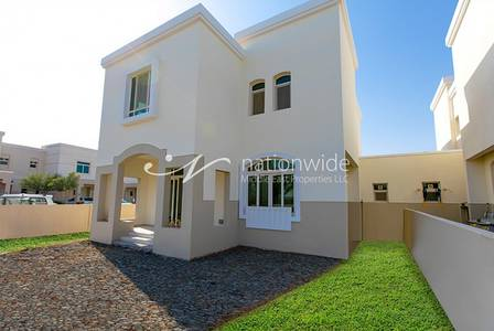 3 Bedroom Villa for Rent in Al Ghadeer, Abu Dhabi - 3 Chq 3 BR Villa w/ Facilities + Parking
