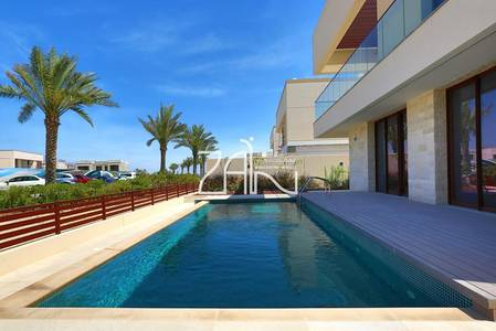 5 Bedroom Villa for Sale in Saadiyat Island, Abu Dhabi - Single Row 5 BR Villa Type 6 with Pool