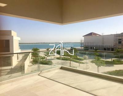 5 Bedroom Villa for Sale in Saadiyat Island, Abu Dhabi - Corner Sea View 5 BR Type 6 Second Row