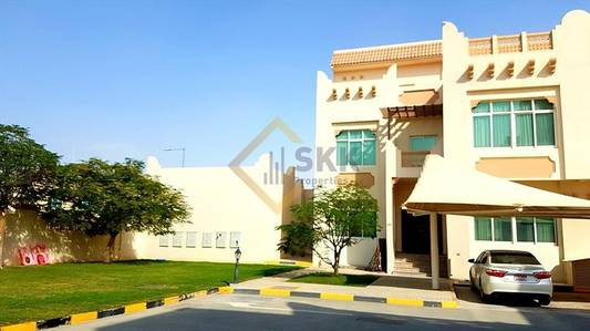 5 Bedroom Villa for Rent in Khalifa City A, Abu Dhabi - European Style 5BR+maid Shared Pool/Gym