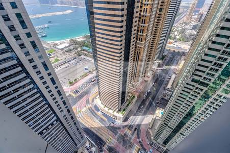 2 Bedroom Apartment for Rent in Dubai Marina, Dubai - Multiple Chq -  High Floor - Best Layout