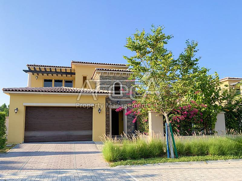 Exquisite, Spacious 4 Master Bed Saadiyat Beach Villa! Ready to Move in!