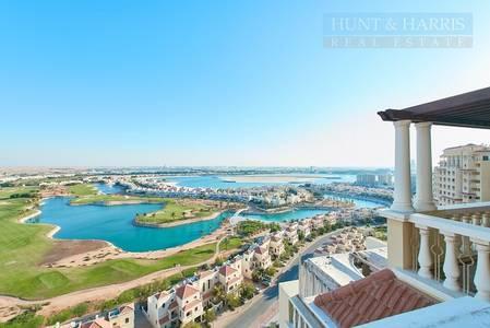 3 Bedroom Flat for Sale in Al Hamra Village, Ras Al Khaimah - Stunning Sea and Lagoon Views with Large Balcony
