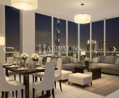 3 Bedroom Apartment for Sale in Downtown Dubai, Dubai - Move In And Pay For 5 Years | 3BR + Maid