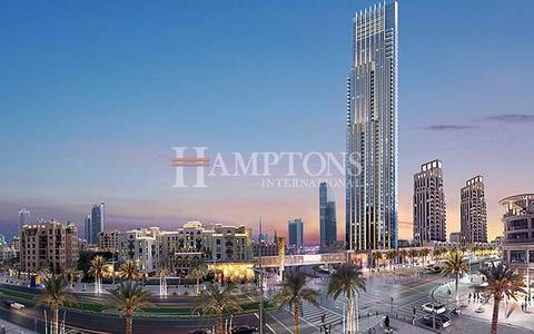 2 Bedroom Apartment for Sale in Downtown Dubai, Dubai - High Floor | Large 2BR | Boulevard Point