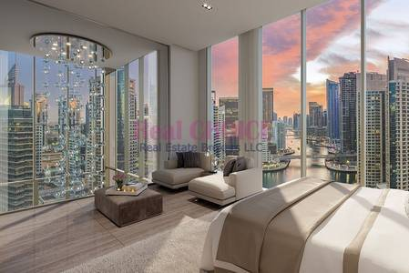 1 Bedroom Flat for Sale in Dubai Marina, Dubai - Partial Marina View | Mid Floor Property