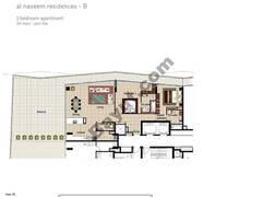 2 BR APT BLDG B, 7th Floor, Plot 706, Type 2S