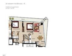 2 BR APT, 6th Floor, Plot 610, Type 2P