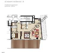 2 BR APT, Ground Floor, Plot 001, Type 2Z