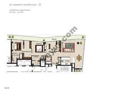 3 BR APT BLDG B, 8th Floor, Plot 806, Type 3O