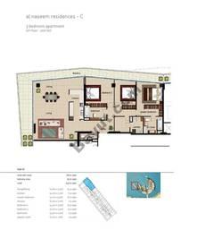 3 BR APT BLDG C,5th floor , Plot507, Type 3I