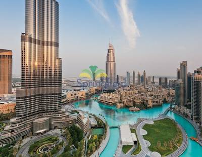 1 Bedroom Flat for Rent in Downtown Dubai, Dubai - Mid Floor | Downtown Views | Unfurnished