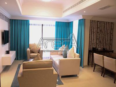 3 Bedroom Apartment for Rent in Eastern Road, Abu Dhabi - Divine Hotel Apt Near Khalifa Park! Full Facilities with 3 Bedrooms!