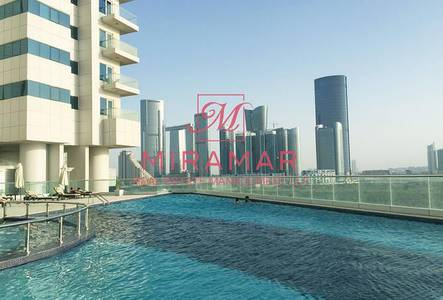 4 Bedroom Flat for Rent in Al Reem Island, Abu Dhabi - LARGE 4 BED WITH PRIVATE POOL SEA VIEW!