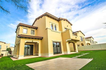 5 Bedroom Villa for Rent in Arabian Ranches 2, Dubai - Backing Pool / Park | The Best Position!