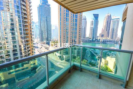 3 Bedroom Apartment for Rent in Dubai Marina, Dubai - Original 6 | Marina View | Two Balconies