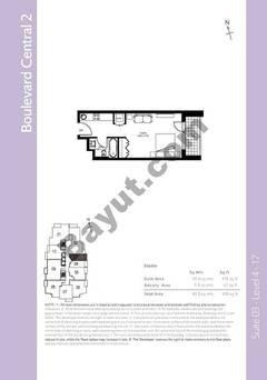 Level 4to17 - Studio (Type 1)