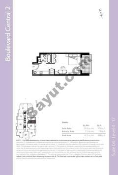 Level 4to17 - Studio (Type 2)