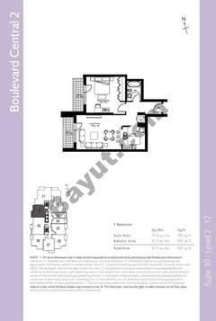 Level 2to17 - 1 Bedroom