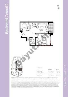 Level 3to17 - 1 Bedroom (Type 1)