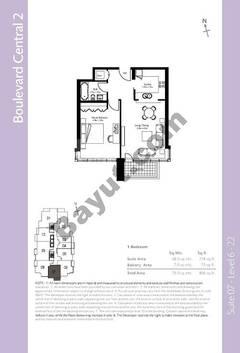 Level 6to12 - 1 Bedroom