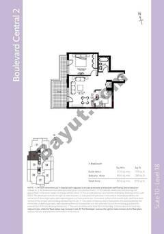 Level 18 - 1 Bedroom (Type 4)