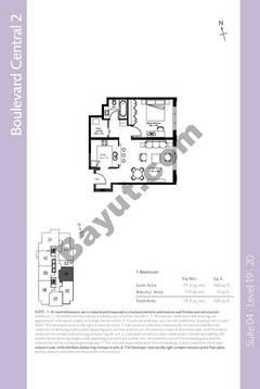 Level 19to20 - 1 Bedroom (Type 2)