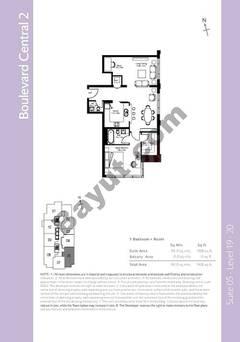 Level 19to20 - 1 Bedroom (Type 3)