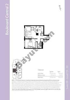 Level 19to20 - 1 Bedroom (Type 4)