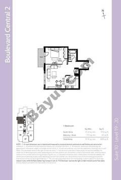 Level 19to20 - 1 Bedroom (Type 5)
