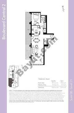 Level 21 - 1 Bedroom (Type 3)