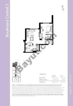 Level 21 - 1 Bedroom (Type 5)