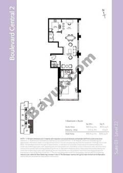 Level 21 - 1 Bedroom (Type 6)