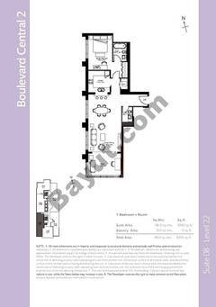 Level 21 - 1 Bedroom (Type 7)