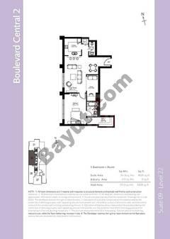 Level 21 - 1 Bedroom (Type 8)